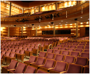 richmond hill centre for the performing arts seating plan